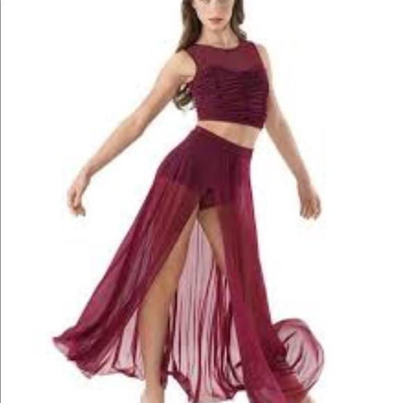 4a445fe04 Lyrical dance costume. M 5ab6c2a93a112e2ab01e95b5